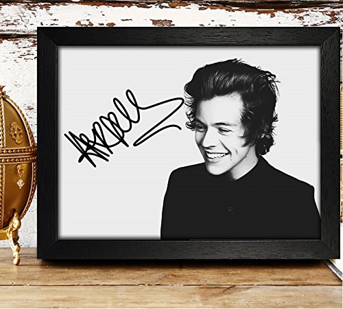 one direction autographed poster - 4