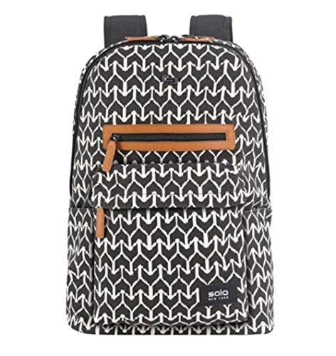 Solo New York Saratoga Chevron Tribal Laptop Backpack with 15.6 Padded Laptop Pocket