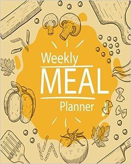 weekly meal planner 52 week food planner grocery list menu food