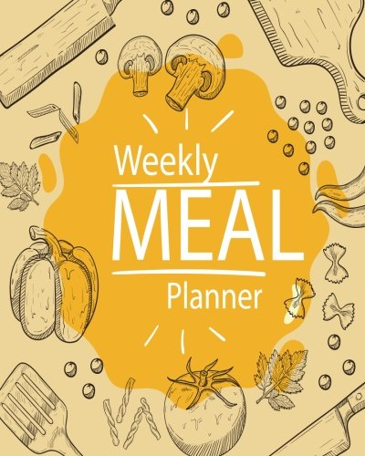 Weekly Meal Planner: 52 Week Food Planner & Grocery list Menu Food Planners Prep Book Eat Records Journal Diary Notebook Log Book Size 8x10 Inches 104 Pages (Volume 2)