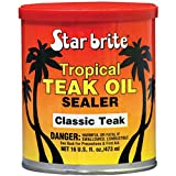 Star Brite Sealer Classic Tropical Teak Oil (16-Ounce)