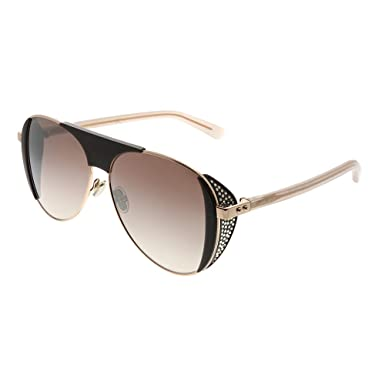 Amazon.com: Gafas de sol Jimmy Choo Rave/S 00T7 Plum/NQ ...