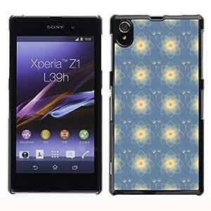 ZECASE Funda Carcasa Tapa Case Cover Para Sony Xperia Z1 L39H No.0000785