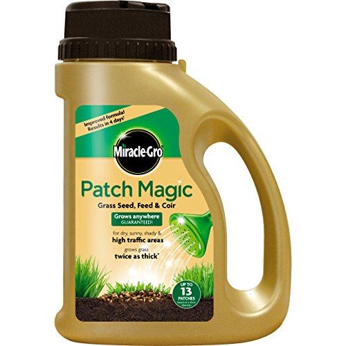 Miracle-Gro 1.015kg Patch Magic Grass Seed with Feed and Coir 13 Patches...