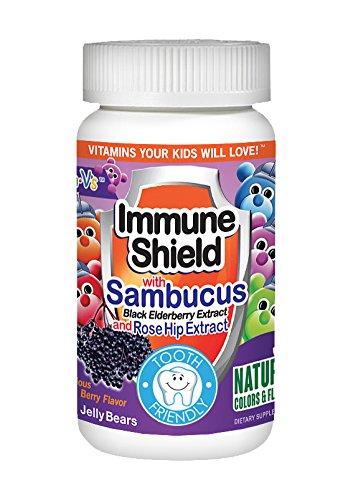 Yum V's Immune Shield with Sambucus, 60 -