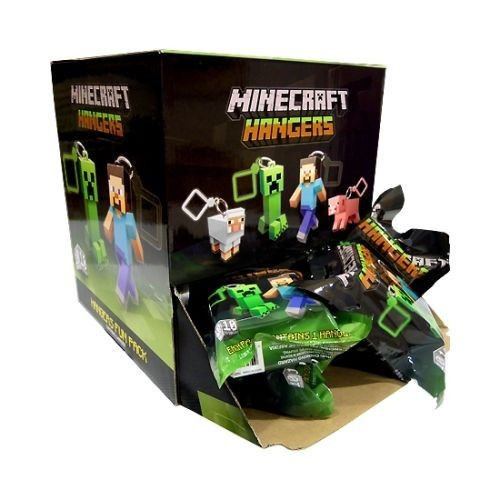 Official Minecraft 3  Mini Figure   Hanger   Back Pack Clip  Random Figure