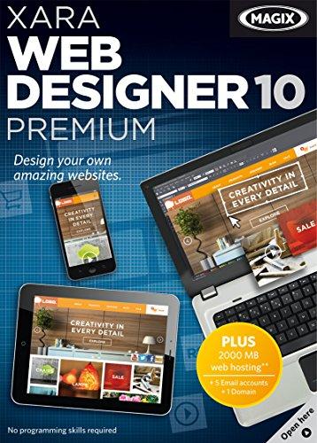 Xara Web Designer 10 Premium [Download] by MAGIX