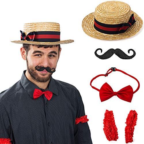 Tigerdoe Barber Costume - Quartet Costume - Vintage Barker Carnival Costume - Barbershop Quartet Costume - Roaring 1920's -