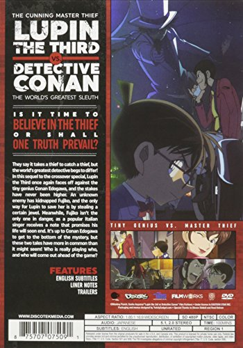 Lupin the 3rd VS Detective Conan Movie