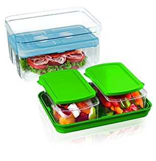 Fit & Fresh 216FF Lunch on the Go Set, STD, Green (B000FNCS5M) | Amazon price tracker / tracking, Amazon price history charts, Amazon price watches, Amazon price drop alerts