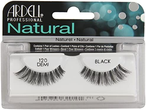 81e180d6810 Ardell Natural Style Number 120 Eye Lashes, Demi Black: Amazon.co.uk ...