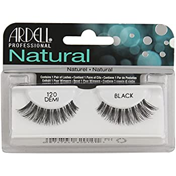 9a52ce21822 Amazon.com : Ardell Fashion Lashes Natural Strip Lash, Black [120] 1 ...