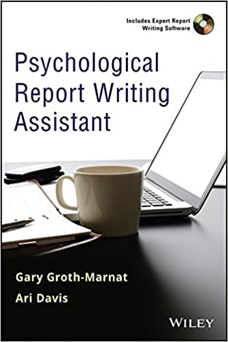 Psychological Report | Amazon Com Psychological Report Writing Assistant 9780470888995
