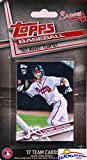 Atlanta Braves 2017 Topps Baseball EXCLUSIVE Special Limited Edition 17 Card Complete Team Set with Dansby Swanson, Freddie Freeman & Many More Stars & Rookies! Shipped in Bubble Mailer! WOWZZER!