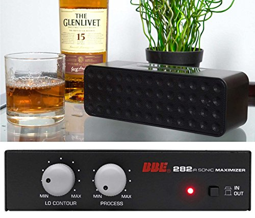 BBE 282IR Desktop Sonic Maximizer w/RCA Inputs/Outputs + Free Bluetooth Speaker by BBE