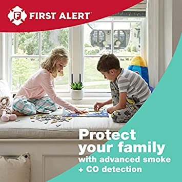 First Alert SCO501CN-3ST Battery Operated Combination Smoke and Carbon Monoxide Alarm with Voice Location