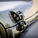 Rugged Ridge 11210.11, Gloss Black Aluminum Hood