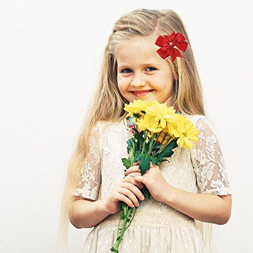 Pezzi Rule Cute Boutique Barrettes Coccodrillo Ragazze Golden Grosgrain Colorful 40 Archi Nastro Capelli Clip Fascia Baby 8qwEvAdx