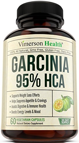 95% HCA Garcinia Cambogia Extract - Weight Loss Supplement and Appetite Suppressant, Metabolism Booster, Carb Blocker & Belly Fat Burner for Men and Women. 100% All Natural & Non-Gmo. Made in the USA