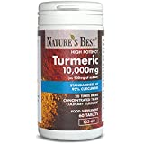 Turmeric 10,000mg – one of the UKs strongest and purest – 60 tablets, UK-mad