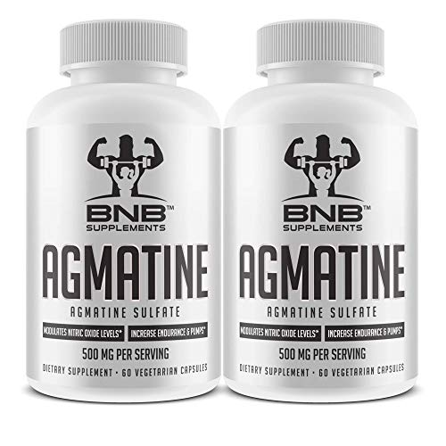 Agmatine Sulfate 500mg (2 Pack)