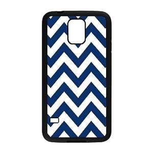 Chevron Stripes Custom Cover Case for SamSung Galaxy S5 I9600,diy phone case ygtg623374