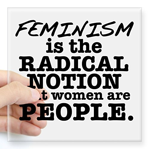 CafePress Feminism Radical Notion Square Sticker 3