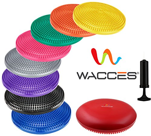 Wacces Inflatable Stability Balance Disc with Smart Pump
