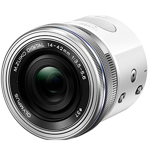 Olympus Air A01 White Body with Silver 14-42mm EZ Lens