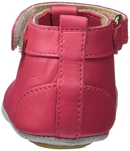 Robeez Mini Toe - Zapatos Bebé-Niños Rosa (Fuchsia)
