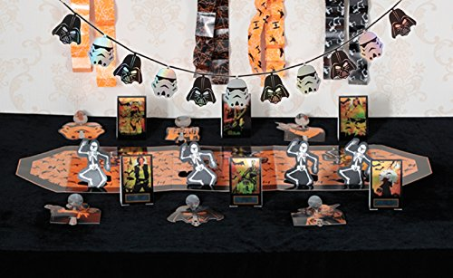 Star Wars Party Supplies Halloween Decoration Kit and Darth Vader and Storm Trooper Garland (Darth Vader Party Ideas)