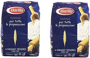 """Amazon.com : Barilla - Farina, di Grano Tenero Tipo """"00"""