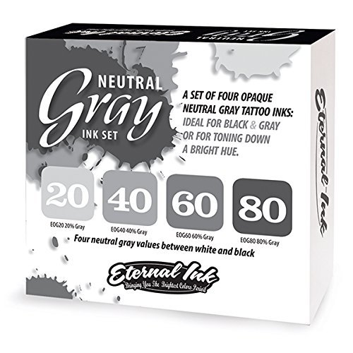Eternal tattoo ink sets - Pick your choice (100% authentic) (Neutral gray set- 1 oz)