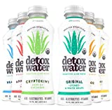 detoxwaterTM Bioactive Aloe Water Sampler Pack 16 Fluid Ounces, Pack of 6
