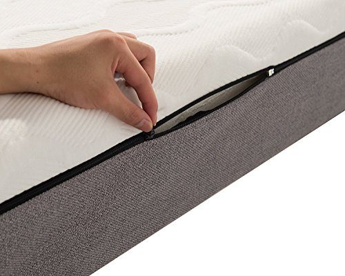 NOFFA 8-inch Memory Foam Mattress Relieve Body Pressure Comfortable Bed Mattress (Queen Size) by NOFFA (Image #5)