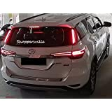 Shoppersville Premium Quality Car Pillar Rear lamp Neon Tail Light (Left + Right) FORTUNER 2016-2017-2018-2019-2020 IMPORTED