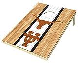 NCAA 2 x 3 Platinum College Hardwood Wood Tailgate Toss