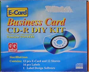 Business Card CD-R DIY Kit