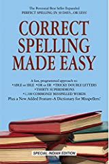 Correct Spelling Made Easy Paperback