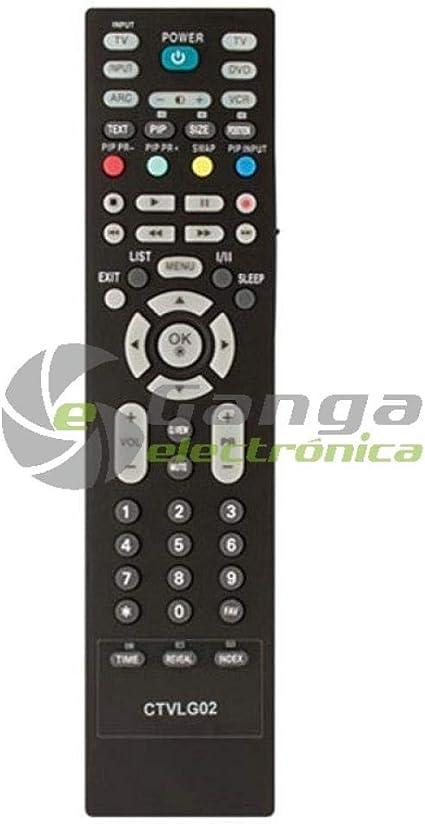 Common TV CTVLG02 mando a distancia universal para control remoto ...