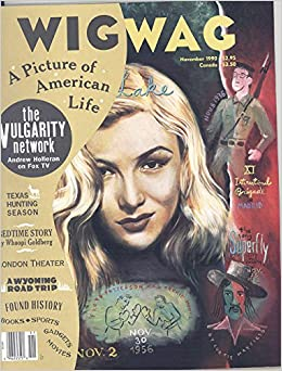 Wig Wag Magazine November 1990 (Veronica Lake on Cover)  Various articles   Amazon.com  Books 583be26d457b