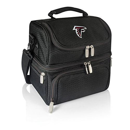 PICNIC TIME NFL Atlanta Falcons Digital Print Pranzo Personal Cooler, One Size, Black Review