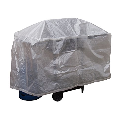 Silverline 613561 Barbecue Grill Cover, 48-Inch x 28-Inch x 28-Inch (Barbecue Covers Range)