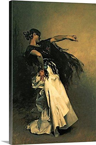 Spanish Dancer Study (Canvas on Demand Premium Thick-Wrap Canvas Wall Art Print entitled The Spanish Dancer, study for El Jaleo, 1882 32