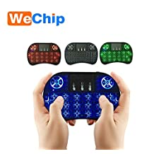 TecFront 2.4G Air/Fly Mouse i8+ Wireless USB Bluetooth Full Keyboard Backlit Remote With TrackPad