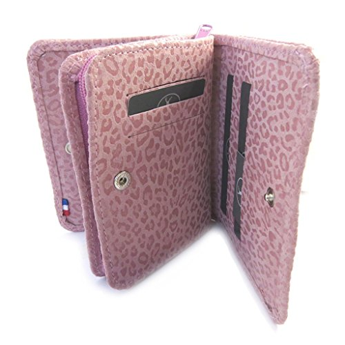 In 'frandi'rosa Portafoglio Antico Pelle leopard B8PdqXxw