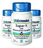 life extension advanced k2 - Life Extension Super K with Advanced K2 Complex 90 softgels (90 x 3)