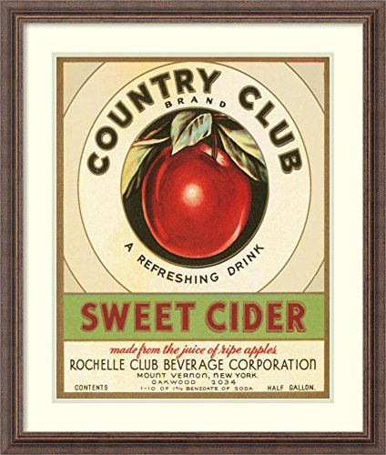 Country Club Sweet Cider (Framed Art Print 'Country Club Sweet Cider' by)