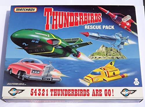 Matchbox Diecast TB-700 - Thunderbirds Rescue Pack - 1, 2, 3, 4, & Fab1: Amazon.es: Juguetes y juegos