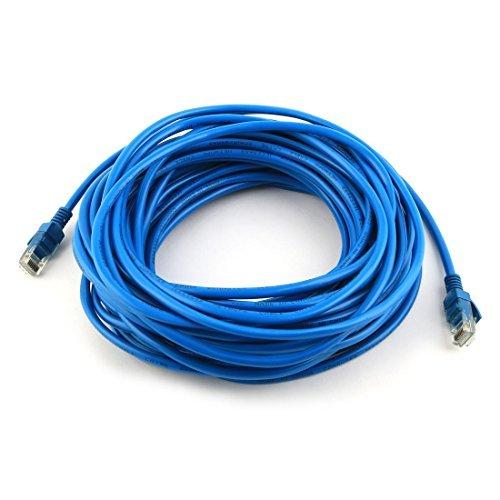 DealMux Home PC Laptop RJ45 Patch Ethernet LAN Network Router Wire Cable Cord 12M Length Blue by DealMux